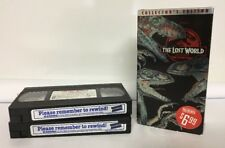 Lost World Blockbuster Defunct VHS Video Rental Tapes Collector's Edition Blue 2