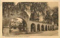 White Border Postcard CA D514 Glenwood Mission Inn Riverside California Street