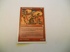 1x MTG Renegade Troops Magic EDH Porta Three Kingdoms P3K ING Inglese x1