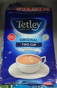 Tetley Black Tea Bags enjoyed by the nation for over 180 years Assorted SizesNew