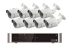 Videoüberwachung Set mit 4 Kameras FULL HD 1080p 1080i 720p 8 Kanal Fernzugriff