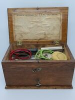 Antique Bunnell No.4 Home Medical Victorian Quack Medical Shock Treatment Device