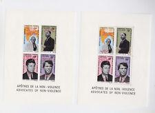 cameroun 1969 yvert s/s 7/7a,Gandhi,..two optd s/s MNH,rare!     m1280