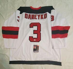 Devils KEN DANEYKO Signed Autographed hockey Jersey JSA COA size XL