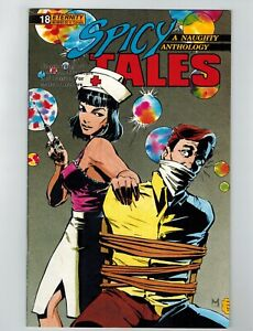 Spicy Tales #18 Comic Book May 1990 Eternity Comics