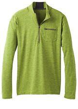 prAna Zylo 1/4 Zip Functional Sweater for Men Sulfur Size S