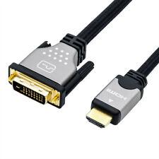 ROLINE 11.04.5872 3m DVI HDMI schwarz Silber Videokabel-adapter D