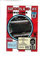 Sunderland v Ipswich Town 1983/4 (3 Dec)