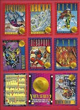 1993 X-MEN SERIES II 2 SKYBOX Complete Your Set U pick 6 cards NM to Mint