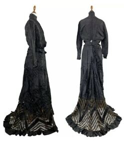 Victorian? Mourning Dress?