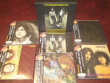 T.REX JAPAN CONTAINER BOX LIMITED EDITION AUDIOPHILE 6 OBI REPLICA LP/CD SET