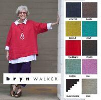BRYN WALKER Light Linen  RESORT SHIRT  Boxy Oversize Tunic  1X 2X 3X  SPR 2018