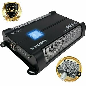 Gravity 4000W Class D 1 Ohm Stable car audio Subwoofer  Competition Amplifier