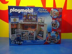 Playmobil 5421 - City Polizeistation Mitnehmbox Aufklapp-Spielbox - NEU & OVP