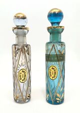 Early 20th Century Ahmed Soliman Perfume King Pair of Perfume Flacons
