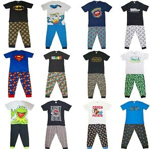 Mens Character Marvel Avengers Batman Fools Nasa Knight Star Simpsons Pyjamas