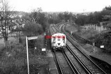 PHOTO  1980 JUST NORTH OF REEDHAM RAILWAY STATION SURREY THIS 2-EPB UNIT HEADING
