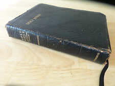 c1974 - Holy Bible, Red Letter Edition, Cambridge (Model 74XRL), Leather cover