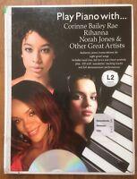 Play Piano With: Corrine Bailey Rae, Rihanna, Norah Jones etc. [Buch & CD]