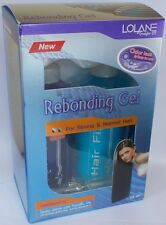LOLANE Straight Off Rebonding Gel Kit Set For Strong & Normal Hair + Tracking