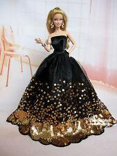 Handmade princesse mariage vêtements pour Barbie châle