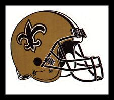 NEW ORLEANS SAINTS FOOTBALL NFL HELMET DECAL STICKER TEAM LOGO~BOGO 25% OFF