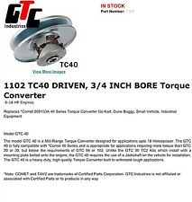 torque converter 1102 mini bike go kart go cart gtc industries