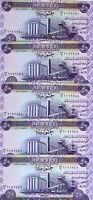 LOT, Iraq, 5 x 50 Dinars, 2003, P-90, UNC