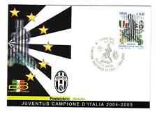 2005 Italy official stamp/pc soccer football JUVENTUS
