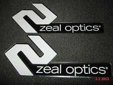 2 authentiques ZEAL OPTICS SUN Lunettes/Googles Autocollants #8/decals aufkleber