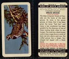 Brooke Bond Canada, Birds of North America 1962 VG (any from 25-48 list)