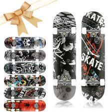 Caroma Skateboard Deck Funboard Holzboard Komplett Skate Board Ahornholz ABEC-7