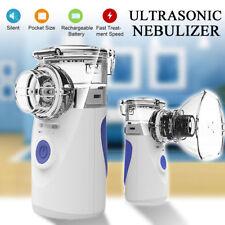 Mini Portable Compressor Nebulizer Nebuliser Asthma Inhaler for Kids Adults Home