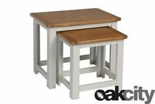 Solid Wood Less than 60cm Square Contemporary Nested Tables