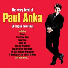 PAUL ANKA - THE VERY BEST OF - 50 ORIGINAL RECORDINGS (NEW SEALED 2CD)