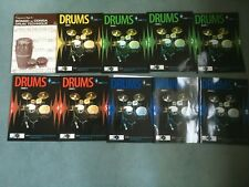 Drums - Rockschool book with cd's 10 books 9 cd's