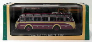 Atlas Editions 1/76 Scale Diecast 7 163 103 - 1953 Henschel HS 100 N - Maroon