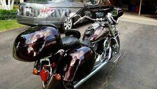 Tsukayu Touring Trunk For Yamaha Vstar Classic Silverado (Black)