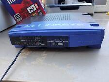 Linksys Befsr41 100/10 Etherfact Cable/Dsl 4 Port Router v.2 - Working