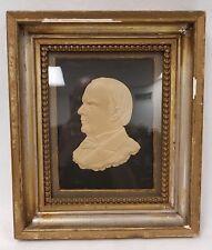 Bas Relief Sculpture President William McKinley by Charles Henry Niehaus b.1855