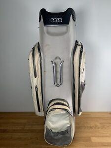 RARE limited Edition Audi Golf Bag / White