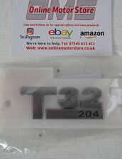 Volkswagen Transporter T5 + T6 - T32 204ps badge -  BRAND NEW - GENUINE VW PART