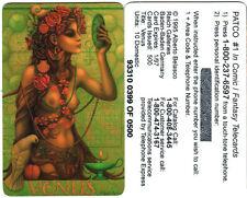 Alberto Belasco Venus Collectible Phone card