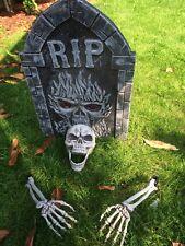 Halloween Party/Prop Lawn Skeleton Bones/ skeleton With Ground Stakes