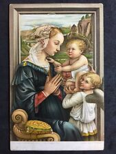 Vintage Postcard - Religious #54 - Misch & Co - Virgin With Holy Child - Lippl
