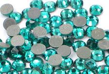 STRASS MC Stone collection 100pz SS6 2mm Blu verde zircon zircone tiffany hotfix