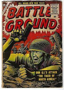 Battleground #12 - Joe Maneely cover - John Severin, Mort Drucker art