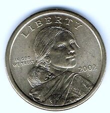 2002-D $1 Brilliant Uncirculated Business Strike Sacajawea Dollar Coin!