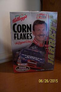 Dale Jarrett 1999 Champion Corn Flakes Box - Full/Sealed