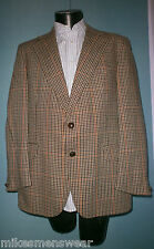 """VINTAGE BURTONS TWEED JACKET 42"""" TO 44"""" DOUBLE TAIL - GREAT CONDITION"""